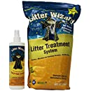 Litter Wizard System 8-Pound Granules and 16 Fluid Ounce Enzyme Spray Combo Pack