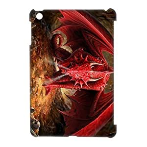 EZCASE Red Dragon Phone Case For iPad Mini [Pattern-1]