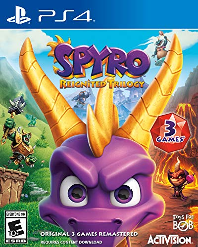 Video Games : Spyro Reignited Trilogy - PS4 [Digital Code]