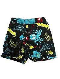 Infant Baby Boys Trunks Octopus Beach Swim Bottoms