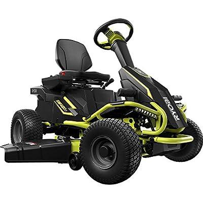 Ryobi 38 in. 75 Ah Battery Electric Rear Engine Riding Lawn Mower