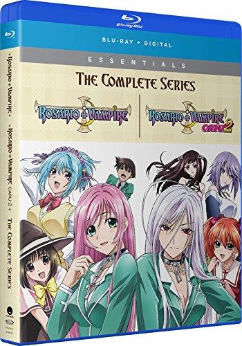 Rosario + Vampire: The Complete Series [Blu-ray] (Best Selling Tv Series)