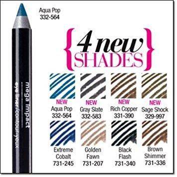 - Avon Mega Impact Eye Liner SAGE SHOCK