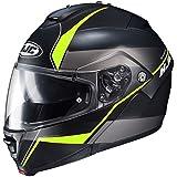 HJC Mine Men's IS-MAX 2 Street Bike Motorcycle Helmet - MC-3HSF / Large