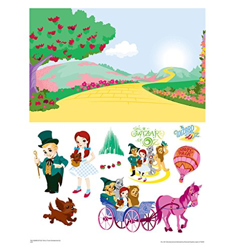 [Wizard of Oz Emerald City Activity Set with Background - Advanced Graphics WallJammer] (Haunted Forest Wizard Of Oz)