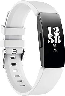 FJmax Nouvelle Mode Silicone Souple Bracelet Sangle De Sport Bande De Montre Remplacement pour Fitbit Inspire/Inspire HR