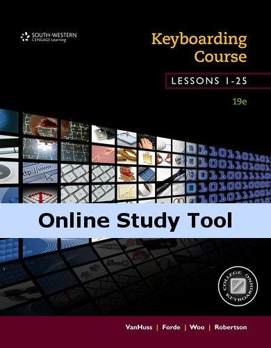 Keyboarding Pro DELUXE for Lessons 1-25, 19th Edition (College Keyboarding Access Code)