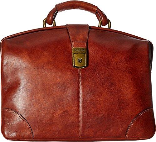 Partner Brief Bag (Bosca Men's Dolce Collection - Soft Partners Brief Amber Briefcase)