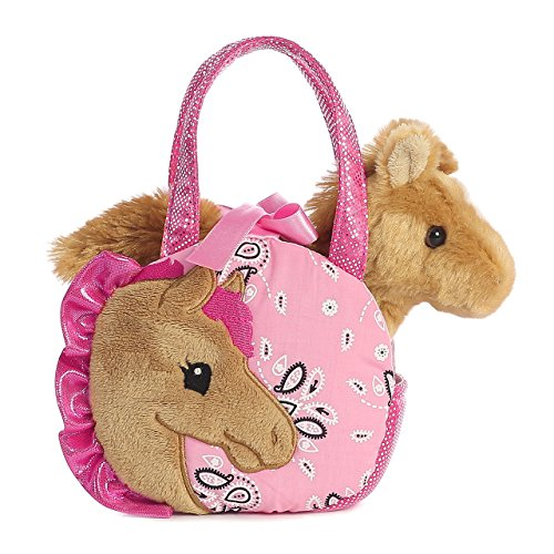 - Aurora World Fancy Pals Pretty Pony Pet Carrier