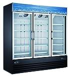Merchandiser Sale!!! Three Glass Door Reach-In Refrigerator Cooler Merchandiser Display Case