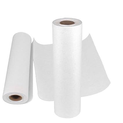 LuLyL - Toallas de Papel de bambú Lavables (2 Rollos, 40 Hojas, Reutilizables