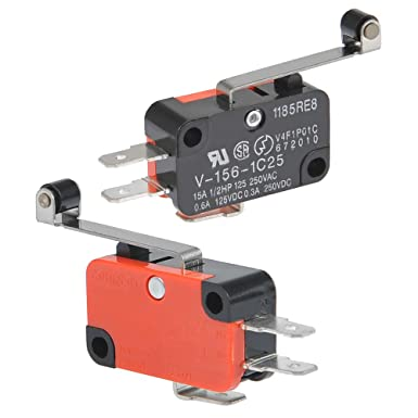 15 Stücke AC 125 V 6A SPDT ON-ON 3 Pin Verrastenden Mikro Kippschalter WK