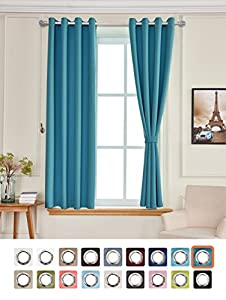 Awesome Curtains that Go with Blue Walls