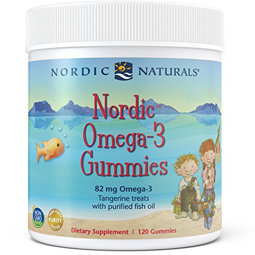 Omega 3 Gummies - Nordic Naturals - Nordic Omega-3 Gummies, Supports Optimal Brain and Immune Function, 120 Count