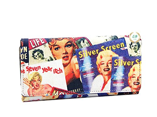 Marilyn Monroe Collage Wallet MM610
