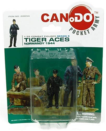 Dragon Models USA 1:35 Combat Figure Series 5 Tiger Aces Normandy 1944 Figure D Wittmann