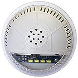 Fortrezz SSA-01 Siren / Strobe Z-Wave Alarm Module Clear Lens