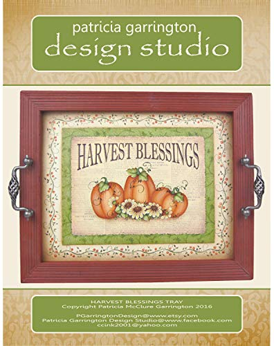 Harvest Blessings Tray Painting E-Pattern