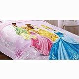 Disney Princess Twin Reversible 2 in 1 Comforter - Dreams in Bloom