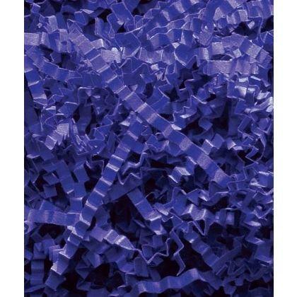 Basket Filler & Shred - Royal Blue Crinkle Cut Fill (1 Box) - BOWS-431-10-2