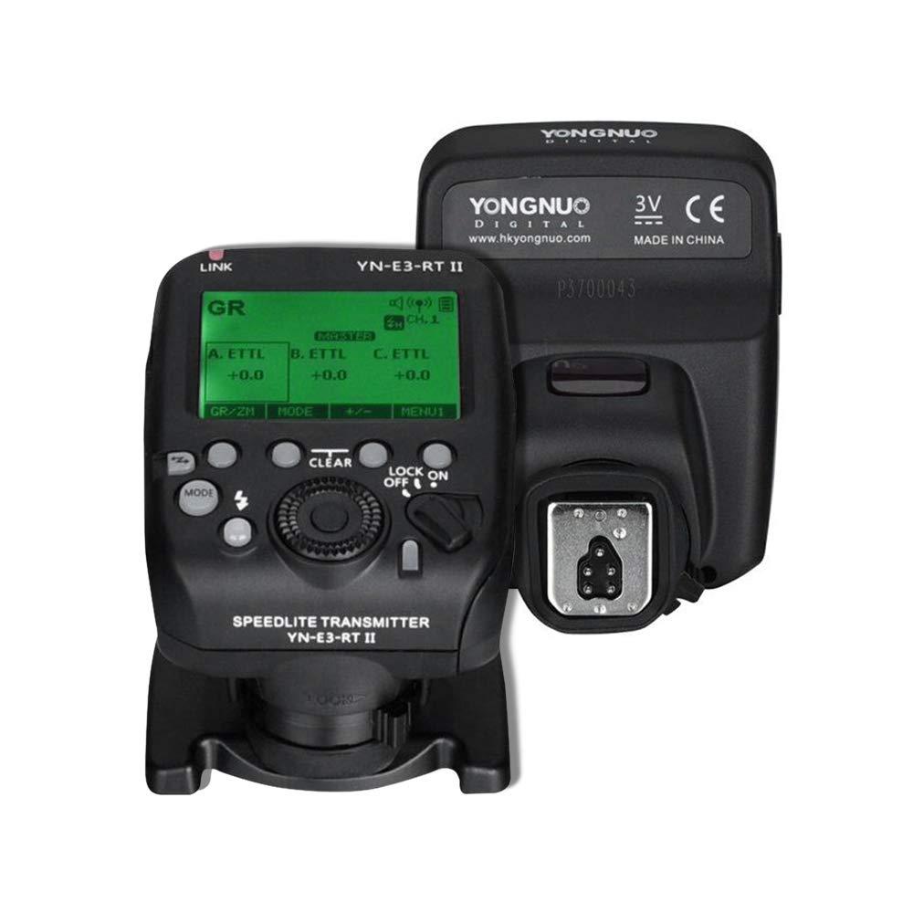 YONYNUO YN-E3-RT II オンカメラ フラッシュスピードライト トランスミッター フラッシュトリガー ST-E3-RT/600EX-RT/YN-E3-RT/YN968EX-RT/YN600EX-RTII/YN686EX-RT/YNE3-RX対応   B07QPFYQWP