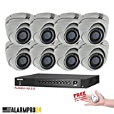 Hikvision USA 16 Channel Turbo HD Surveillance Kit +(8) x 2 Megapixel Hikvision EXIR Turret Cameras Special Package FREE Gift included