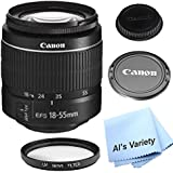 Canon EF-S 18-55mm f/3.5-5.6 III DSLR Lens (White Box)