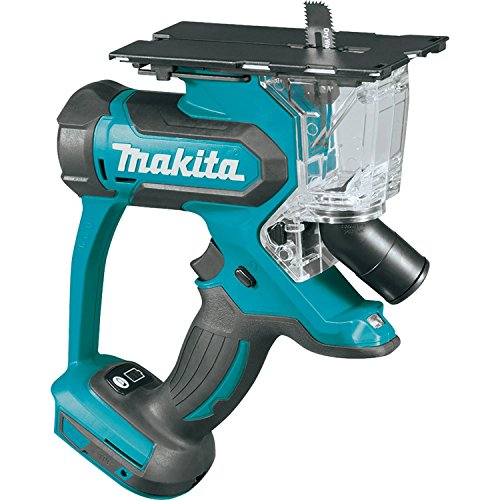 Makita XDS01Z 18V LXT Lithium-Ion Cordless Cut-Out Saw, Tool Only (Out 18v Tool Cut Cordless)