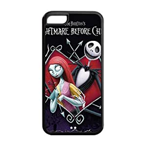 Customize Cartoon Nightmare Before Christmas Back Case for iphone 5C JN5C-1699
