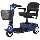 Golden Technologies 3 Wheel Companion Scooter GC340 - Companion - 3 wheel - Batteries Included -GC340 Blue