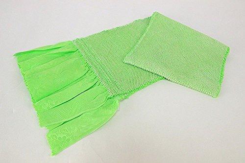 抗生物質運命的な息切れ加藤萬謹製 正絹 総絞り帯揚げ振袖用 日本製