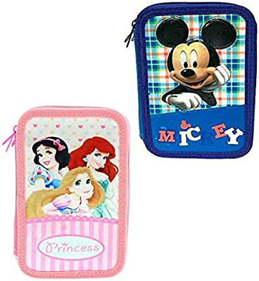 Disney Princesas Estuche Triple Lleno: Amazon.es: Juguetes y juegos