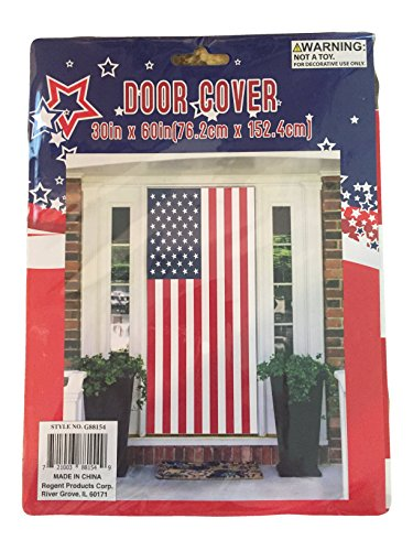 Banner Cover (Regent 4th of July Celebration Patriotic Door Cover Banner 30 x 60 Inch (USA) (American Flag))