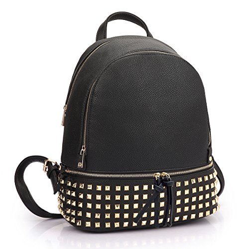 Dasein Casual Backpack Purse School Bag Vegan Leather Shoulder Bag Designer Daypack Tote for Womens & Girls