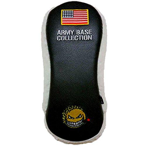 はっきりしない世代気づくアーミーベースコレクション ドライバー用ヘッドカバー ABC-022HC/GC4005 ブラック