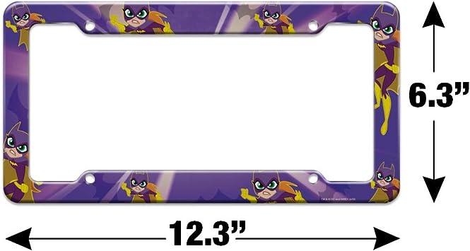 Graphics and More DC Super Hero Girls Batgirl License Plate Tag Frame