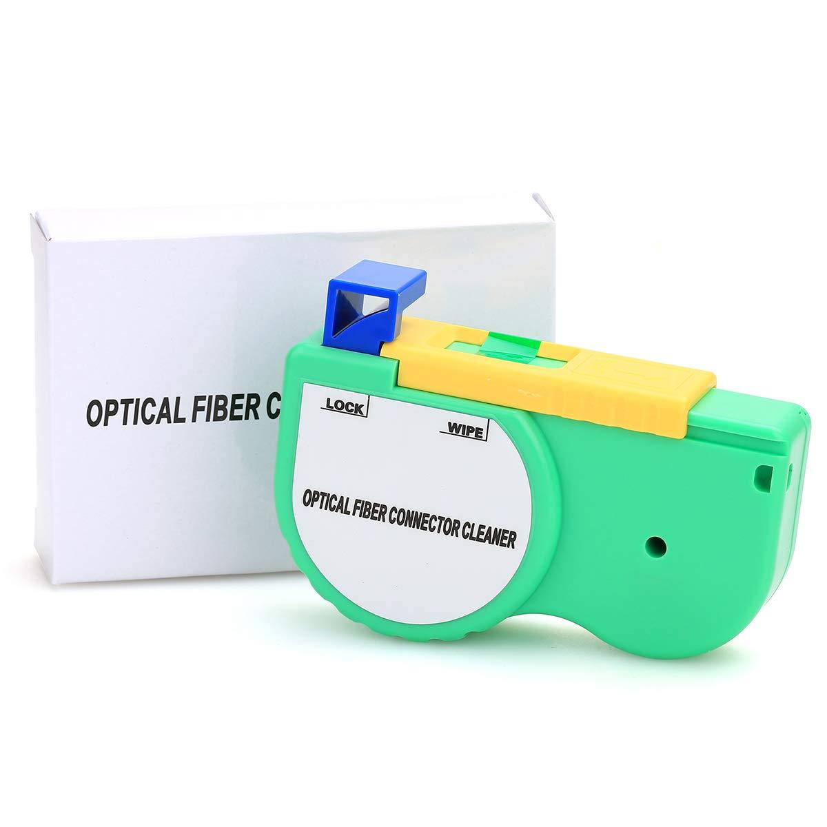 Herramienta de limpieza de carrete para conector de fibra /óptica para adaptador de conector SC ST FC