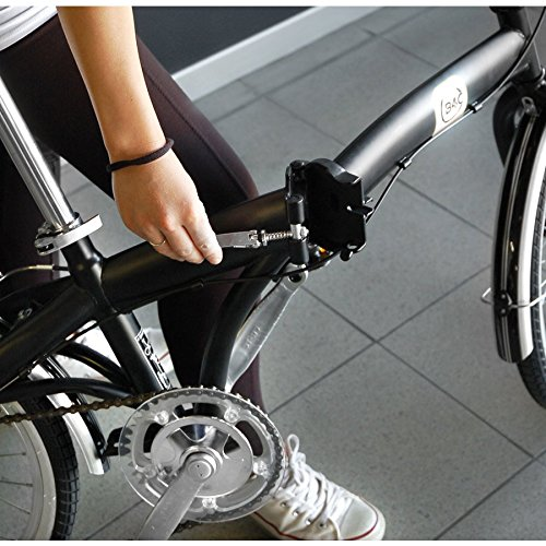 Bicicleta Plegable, City Bike Hi-Tension.: Amazon.es: Deportes y aire libre