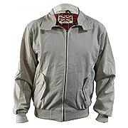 Harrington Jacket Classic/Retro/Mod/Scooter by SKYTEXUK, 10 Colours, Sizes XS – 8XL