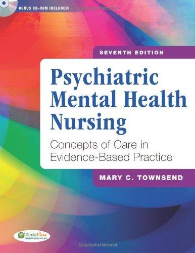 Psychiatric Mental Health Nursing (7th, 12) by Townsend, Mary [Hardcover (2011)] pdf epub