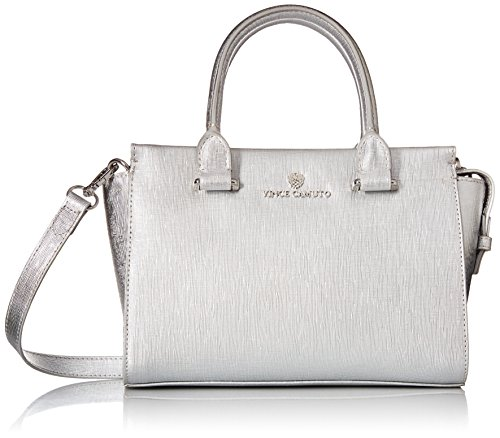 Vince Camuto Women's Thea Small Satchel Silver One Size