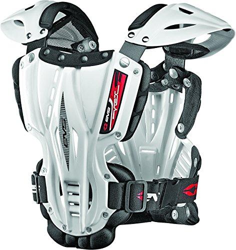 - EVS Sports Men's Revo 4 Roost Diflector (White, Medium) - VEX-W-M