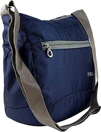 PRAJO Men   Women Blue Polyester Sling Bag  Amazon.in  Bags accb8c2b0