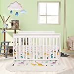 Brandream-Dinosaur-Crib-Bedding-Sets-for-Boys-with-Bumper-Pads-100-Hypoallergenic-Cotton-Baby-Nursery-Bedding-Set-11-Pieces