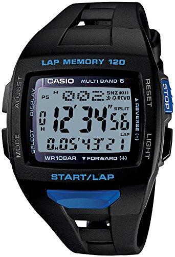 [카시오]CASIO 손목시계 fizz LAP MEMORY 120 전파 솔라 국내 메이커1년 보증부 STW-1000-1BJF