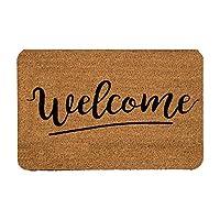 Tapete de Entrada, Design Shape Welcome, 40X60 cm Decoración Hogar Rug Helio Hola Bienvenidos Welcome