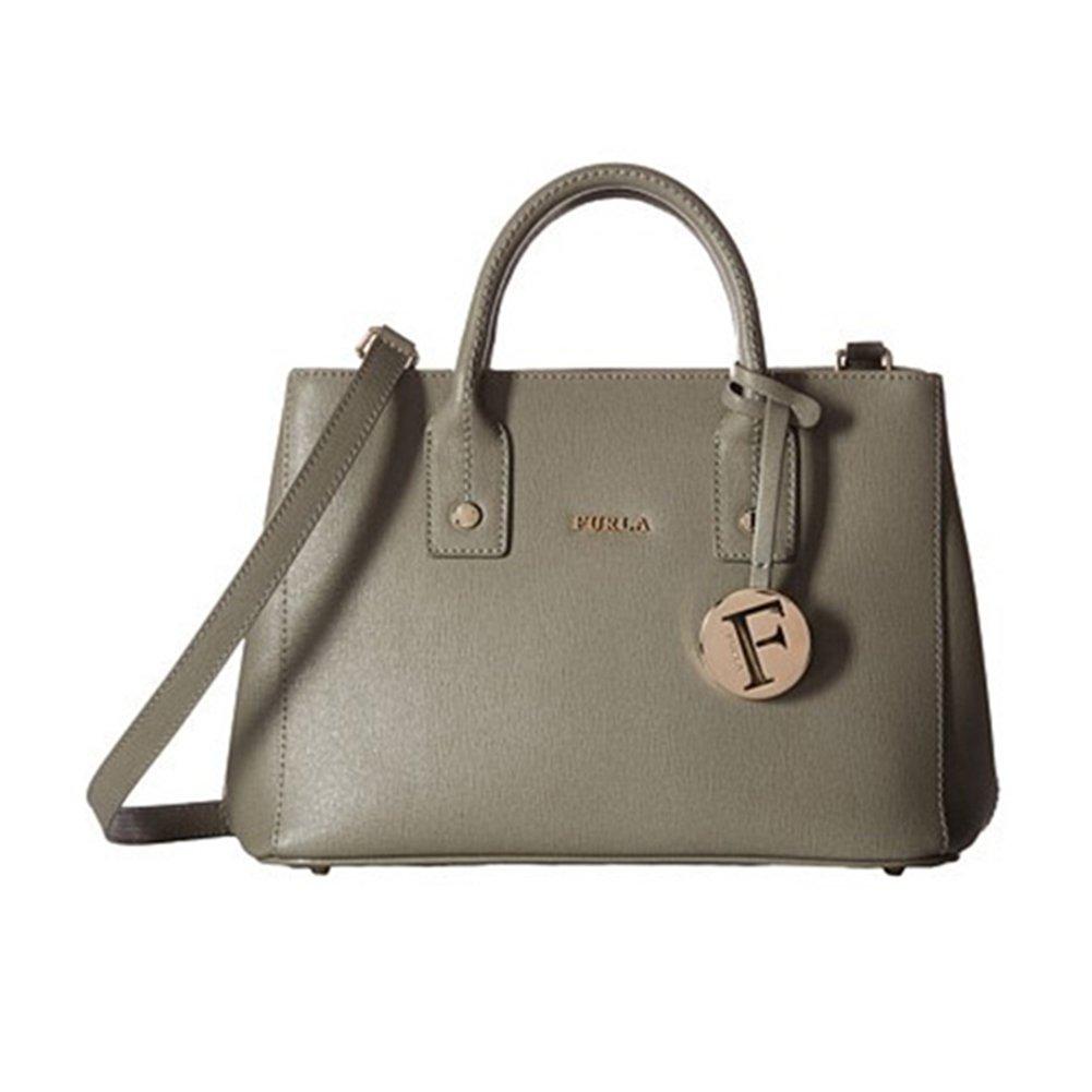 Furla Women's Linda Medium Leather Tote Bag, Agave, OS