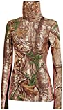 under armour evo cold gear - Under Armour UA Coldgear Infrared Scent Control Evo Cozy Neck Top - Women's Realtree AP-Xtra / Perfection Medium