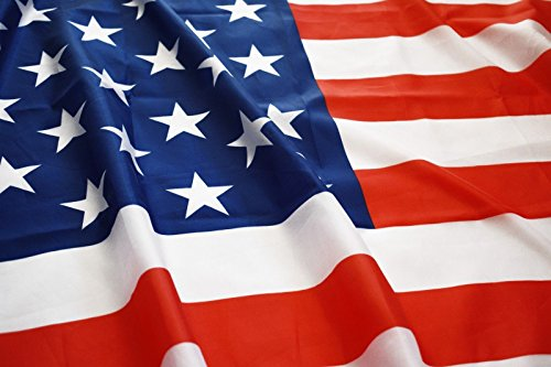 Eugenys American Flag (3x5 Feet) - 100% Super Polyester Material - FREE Bonus Included - Large USA Flag With Brass Grommets - US Flag For Hanging Indoor/Outdoor (Pride Pin American)