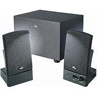 CYBER ACOUSTICS Speaker System - 8.5 W RMS - Black / CA-3001WB /